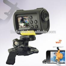 IShare S10W Câmara de vídeo Full HD 1080P WiFi câmara de vídeo digital de acção de grande angular de 170 graus