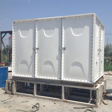 Aquaculture drinking water GRP Composite glass water tank
