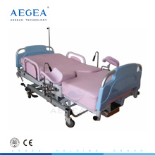 AG-C101A02B I.V. stand height adjustable hospital gynecological operating table