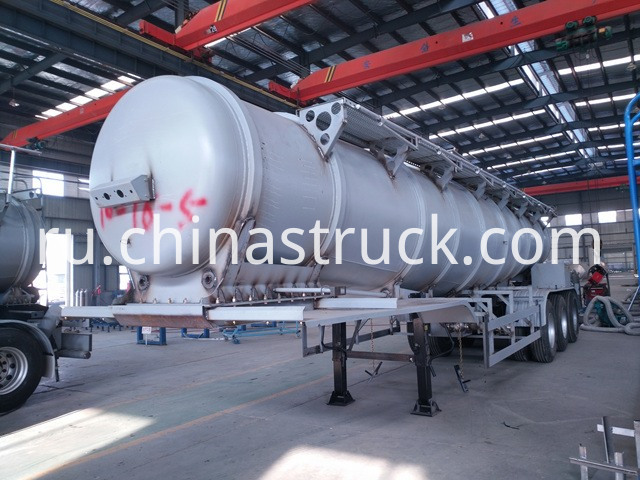 V Shape Acid Tanker Trailer