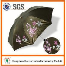 Dernière vente chaude! Parapluie droit de bonne qualité avec un manche en bois avec bon prix