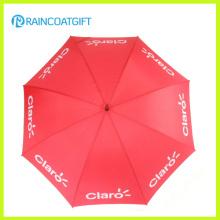 Paraguas promocional de apertura automática de fibra de vidrio
