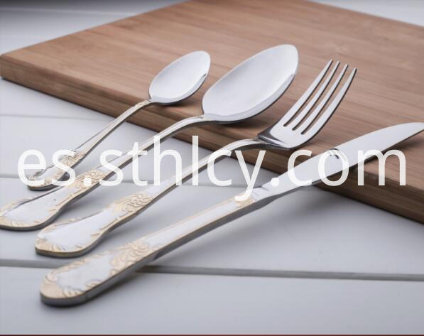Stainless Steel Spoons And Forks