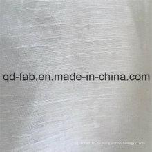64% Leinen 20% Baumwolle16% Nylon Feindünn Garn Stoff (QF16-2508)