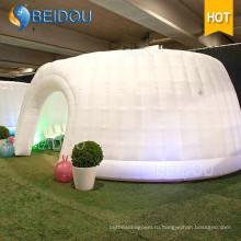 Открытый события Складные палатки Вечеринка свадебные украшения Marquee Военный купол Надувной шатер