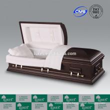 LUXES American Style Bordeaux Caskets 0nline Funeral Caskets With Casket Lining
