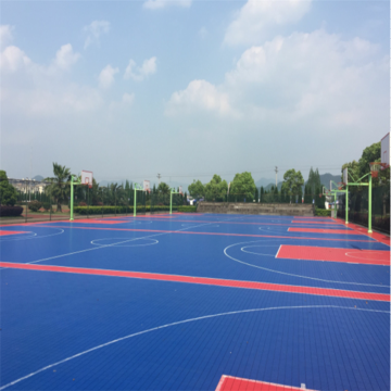 Enlio Basketball Outdoor PP Sportbodenbelag