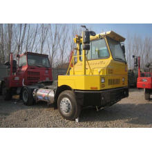 HOWO Hova 4X2 Terminal Pier Tractor Truck for Port Application Trailer