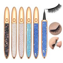 2 in 1 Black Adhensive Eyeliner Glue Pen Gel Eyeliner Waterproof Pencils Wholesale Custom Logo Liquid Eyeliner Eyebrow Pen