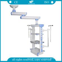 Hospital Durable Column Double Arm Pendant (AG-40H-2)