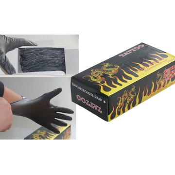 Professional Tattoo Black Glove for Artist