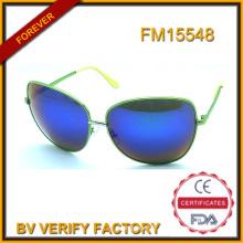 Nouvelles lunettes de soleil Design avec lunettes tendance matière métal
