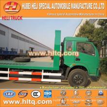 DONGFENG marque 4X2 120hp charge 6,000kg-7,000kg camion de transport de machines de construction fabriqué en Chine la plus vendue