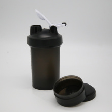 Customized for Sports Shaker 450ml Protein Shaker Bottle with 100cc Powder Container supply to Central African Republic Wholesale