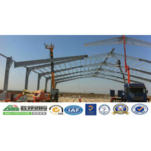 Pre Assembled Structural Steel Frame Fabricated Workshop