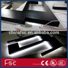 Best price illuminated LED advertising stainless steel letter