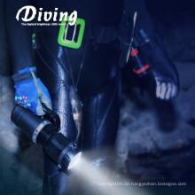 Höchste Qualität Hand gehaltene hohe Lumen wasserdichte tiefe Tauchgang-Taschenlampe Taschenlampe