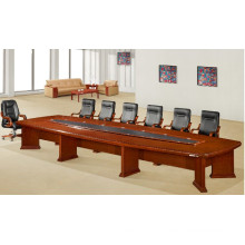 Boat Shaped 15 Person Conference Room Meeting Table
