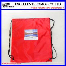 Promocional personalizado nailon de nylon de poliester material mochila bolsa (EP-B6192)