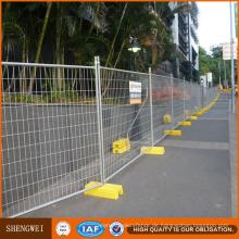 Anping hohe Sicherheit PVC beschichtete abnehmbare temporäre Zaun