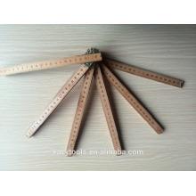 Régua de dobramento de madeira