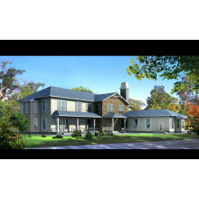 Casa ligera de acero con diseños modernos