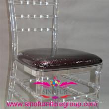 top quality PU hard pattern cushion for chiavari chair