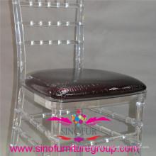 Almofada de padrão rígido PU de alta qualidade para cadeira chiavari
