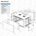 Gmb 6u-15u Metal Rack Enclosure Telecommunication&Broadcasting Wall Mounted Cabinets