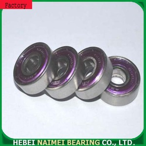 Chrome Steel Deep Groove Ball Bearing 609zz