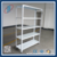 Light duty metal storage shelving racks