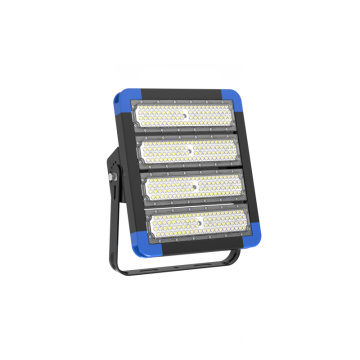 Angle de faisceau IP66 15 30 45 60 90 Grand mât LED pour gymnase de terrain de badminton en option, 130 mm