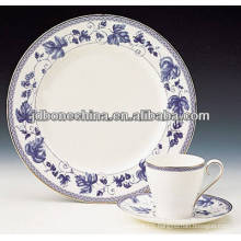 full decoration fine bone china dinner set made in china