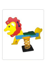 Plastic kids outdoor spring rocking horse