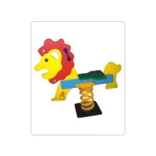 Plastic kids outdoor spring rocking horse