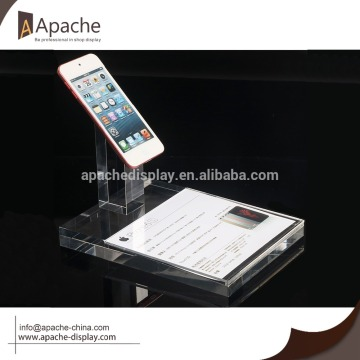 Acrylic phone display holder