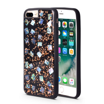 Adhesive Pearl Phone Case for iPhone8