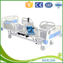 Collapsible ABS headboard three function ICU automatic hospital bed