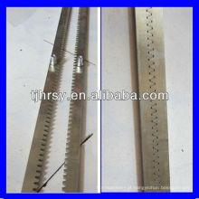 Aço 1045 Rack de engrenagem para máquina CNC