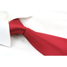Fashion Solid Red Necktie