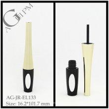 Especial forma delineador tubo com espelho/Eyeliner recipiente com espelho AG-JR-EL133, embalagens de cosméticos do AGPM, cores/logotipo personalizado