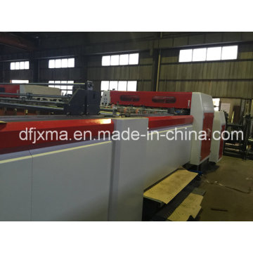 Paper Roll Cutting Machine with Hole Die Cutter