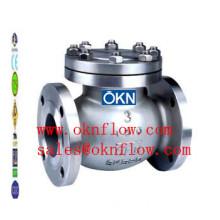 15 A217-C5/WC6/WC9 butt welded check valve/sales@oknflow.com