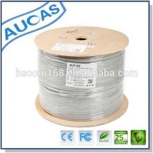 Meilleur prix utp / ftp cat5e / cat6 lan câble câble réseau 26awg