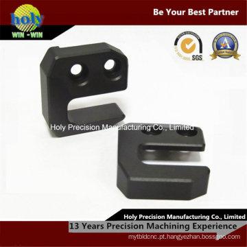 Caixa fazendo à máquina personalizada do alumínio do CNC das peças sobresselentes 6061 do CNC