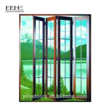French bifold doors aluminum exterior