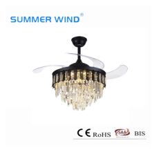 SAA ceiling fan light with remote control