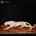 Высокое качество декоративные ремесло смолаы фигурки животных статуя леопарда для домашнего декора