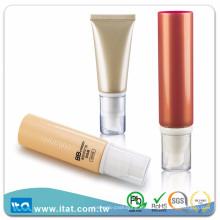 Tubo cosmético flexible del OEM caliente del LDPE de la venta para la piel que tonifica la loción