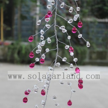 Acryl Drop en Grape Seed Garland boomtakken